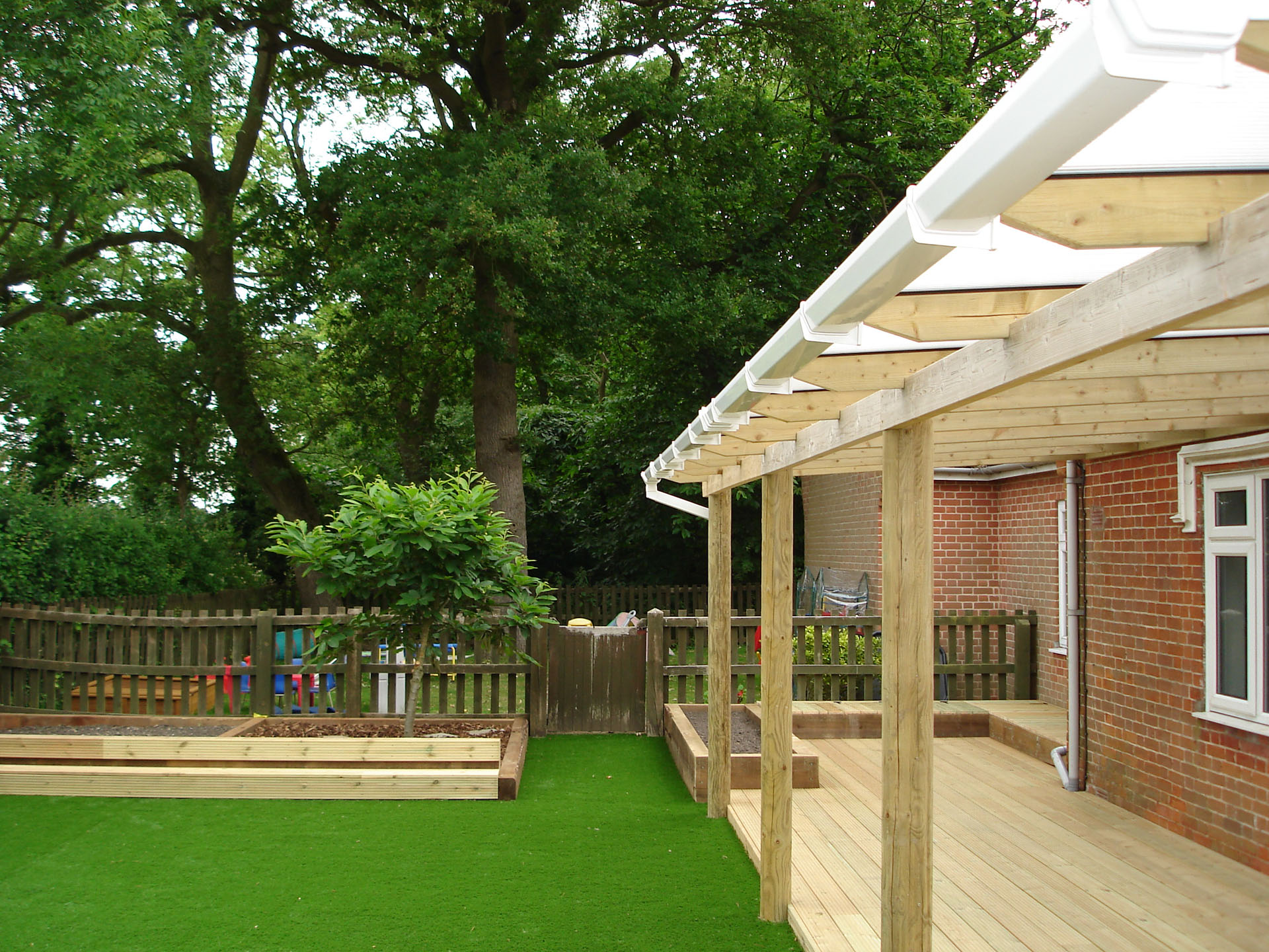 Patio & Play Area Covering, Essex