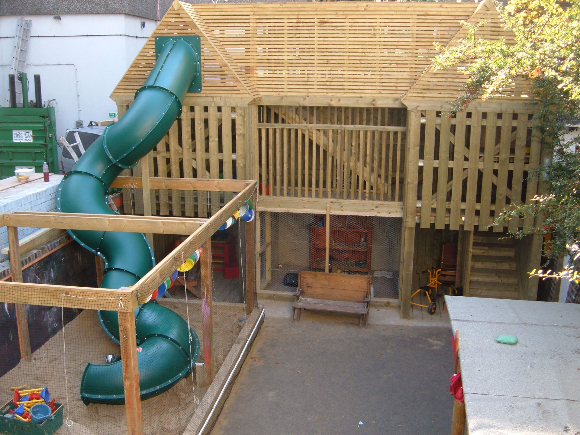 Play Structure & Slide, London